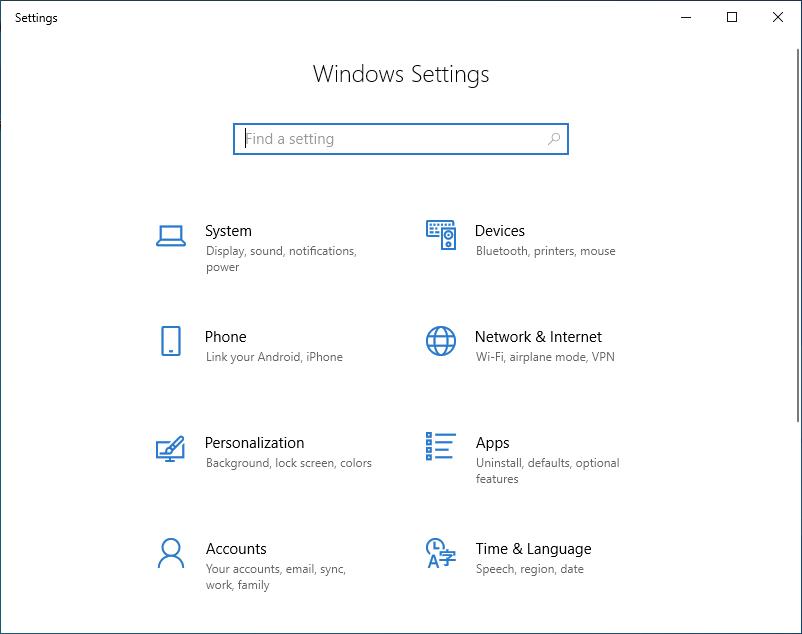 Windowsのアプリ設定